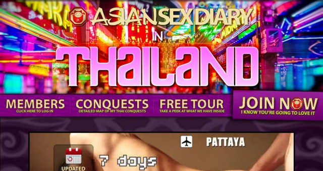 asian sex diary in thailand