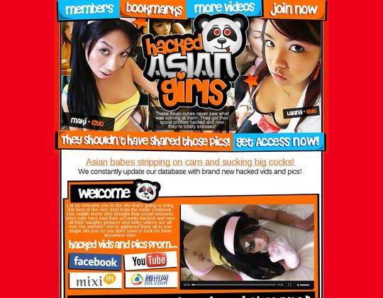 hacked asian girls hackedasiangirls.com