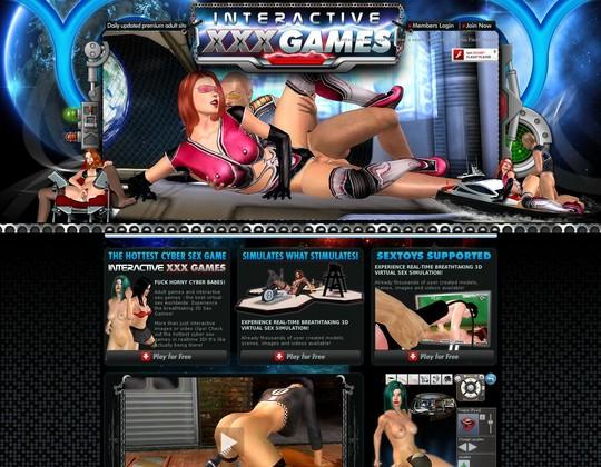 Interactivexxxgames