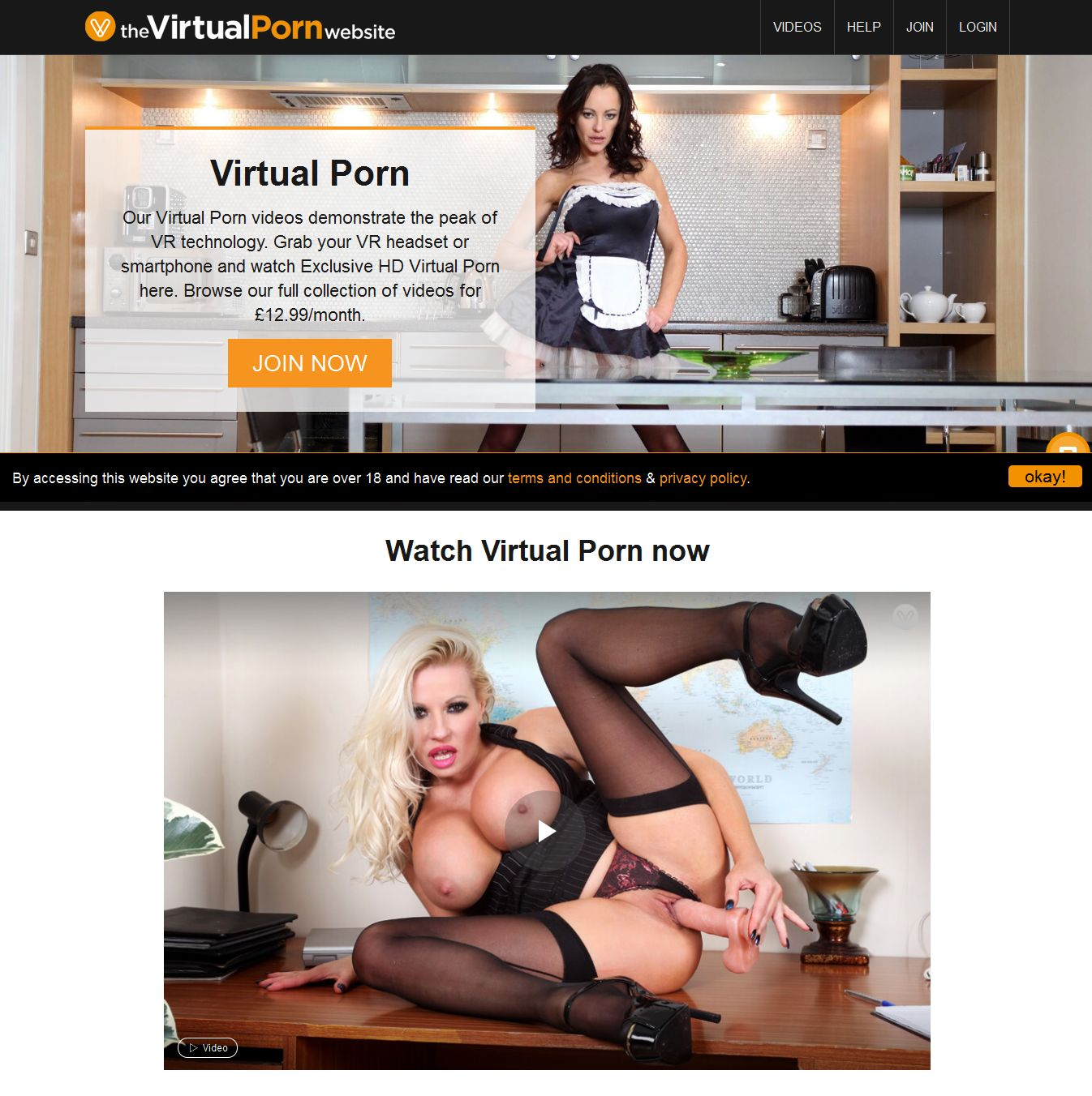 The Virtual Porn Website