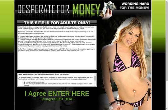 Desperate For Money