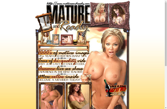 Mature And Ready