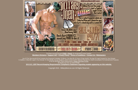 Military Men Live