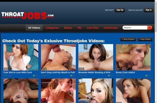 Throat Jobs