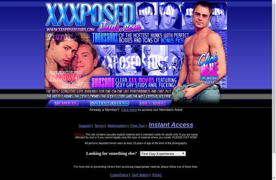 XXX Posed Studs