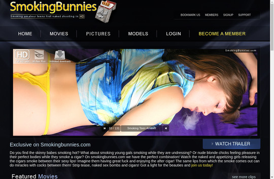 Smoking Bunnies