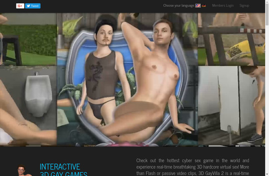 Gay 3d virtual sex games adult gallery