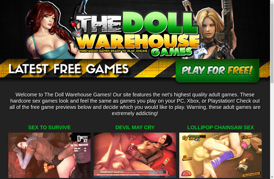 The Doll Warehouse Games