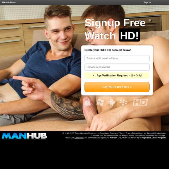man hub